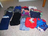 bundle of boys clothes age 4-5 yrs