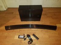 Samsung HW-J6000 300W 6.1 Curved Soundbar Seperate Wireless Subwoofer Bluetooth