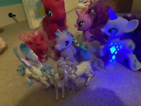 My Little Pony collection- including light up and singing pony
