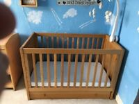 Mothercare Cot and Change Table