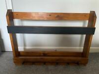 Home wall bar shelf (wine & spirts)