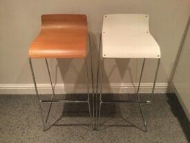 2 Calligaris Italian design high bar stools