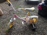 girls' toddler bike