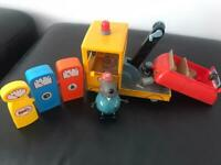 peppa pig grandad dog and tow truck