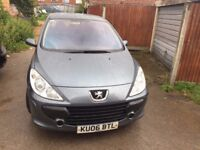 PEUGEOT 307 S MOT UNTIL OCT 2017 FULL SERVICE HISTORY