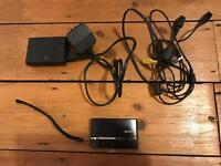Sony DSC-T50 7.2MP digital camera with TV cable, battery charger and 2GB MemoryStick Pro Duo