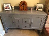 Grey painted dresser/sideboard