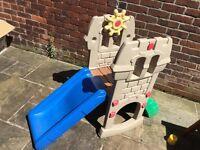 Little Tikes Castle Slide - Blue