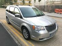 Automatic 2008 Chrysler Grand Voyager 2.8 CRD LTD Diesel Auto 7 Seater