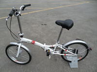 Activ Fold S 2016 Unisex Folding Bike Brand New Never Been Used Located in Bridgend Area
