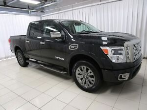 2017 Nissan Titan IT'S A MUST SEE!!! PLATINUM RESERVE 4x4 EDTN C