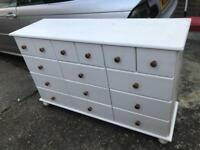 Big pine chest of drawers