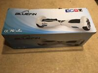 """BlueFin Hoverboard Swegway 6.5"""" With Bluetooth Speakers, Remote and Bag. Light Indoor Use"""