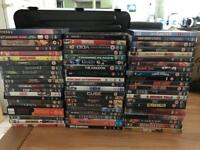 227 DVD's all major titles. No shelf filler. From personal collection and ALL DVD/box sets WORK.