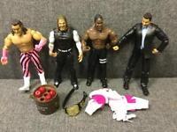 Retro WWE WRESTLING FIGURES JAKKS PACIFIC 2003 2005 Rare Toy Action figures Bundle 5 SDHC