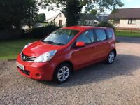 2010 NISSAN NOTE 1.5 DCI ACENTA - LOW RUNNING COSTS -