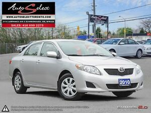 2010 Toyota Corolla ONLY 152K! **CLEAN CARPROOF** POWER OPTIONS