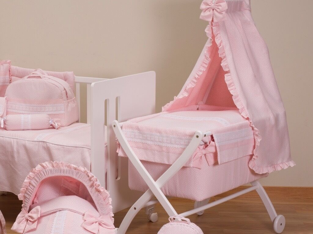 Baby cribs liverpool - Spanish Wooden Baby Cribs Cots Baby Blue Pink Cream Grey Camelin Liverpool