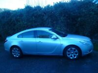 Silver Vauxhall Insignia sri with SatNav. Excellent condition. Parking Sensors Front & Rear