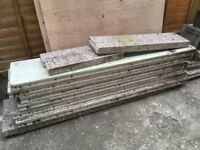 15 x Concrete Shed Slabs