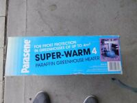 Green house parafin heater