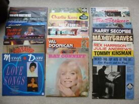 Vinyl LP's Albums Records from 50's/60's/70's Cliff Richard Sinatra The Seekers Evita +