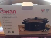 swan SF1104 1B SLOW COOKER New boxed and unused