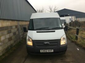 FORD TRANSIT MEDIUM BASE MEDIUM ROOF.2012.WARRANTED 57K MILES.