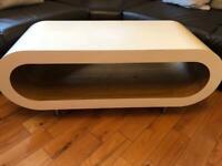 Oak Designer Coffee Table