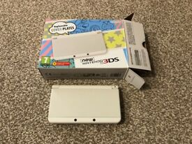 New Nintendo 3DS Console White (boxed)