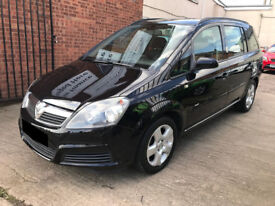 Vauxhall Zafira 1.8 Automatic 5dr - 2006, 2 Owners, Brand New Clutch, 12 Months MOT, Full S.History!