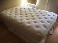 Double mattress and box-spring/divan