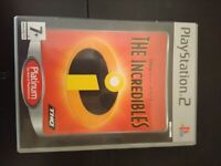 PS2 game The Incredibles