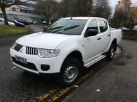2011 L200 LWB Diesel Pick Up 4Life **NO VAT**