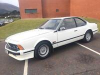 BMW 635 CSI AUTOMATIC 1986 ***CLASSIC SHARK NOSE BMW COUPE*** MOT JULY 2017***
