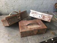 Bespoke Handmade Tool Chest / Mini Safe / Vanity Box 50 Available ring malc