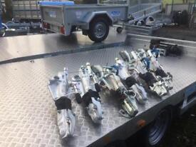 Trailer parts wheels tyres brakes for ifor Williams nugent Hudson Dale kane