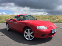 LOW MILEAGE 2003 MAZDA MX5 FULL SERVICE HISTORY AND LONG MOT GREAT SUMMER CAR!