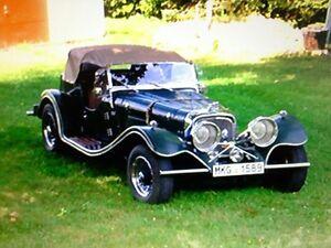 Jaquar SS 100 1937 replica