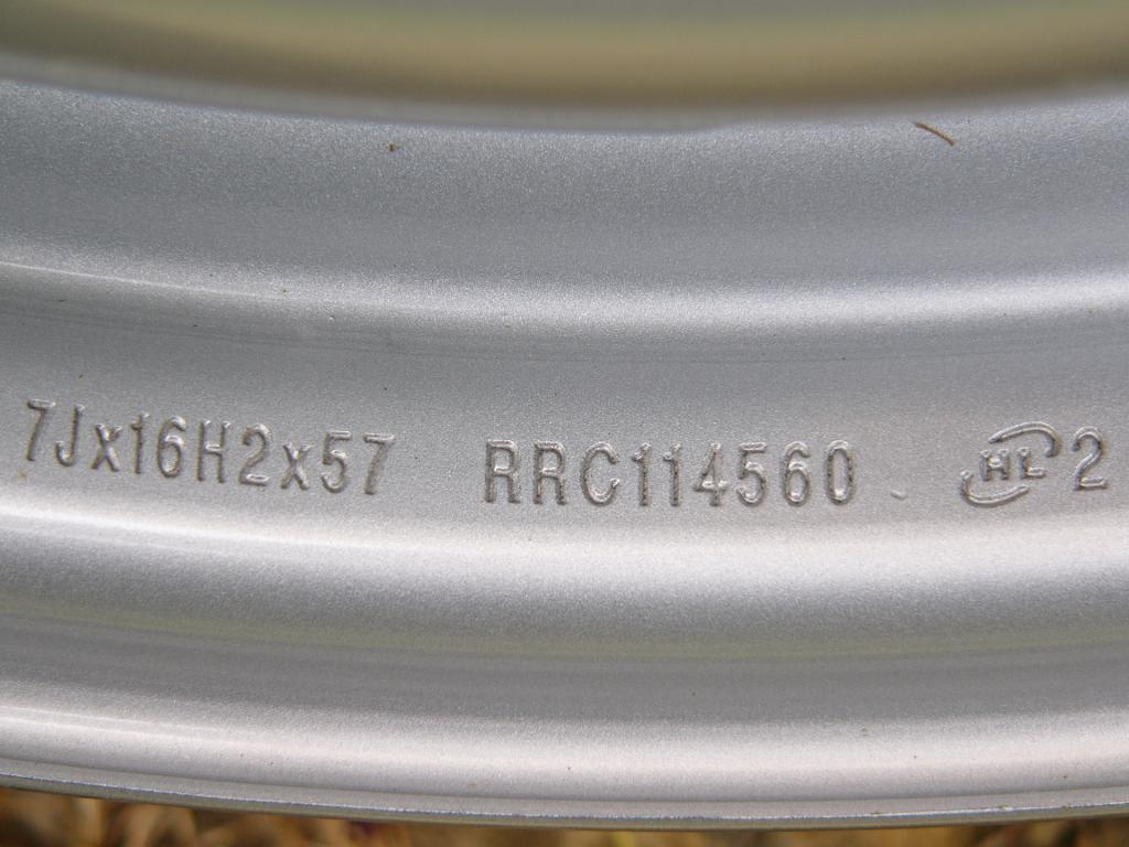 Land Rover Disco 2 genuine steel wheels