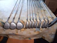Set of golf club's. IDEAL for a beginner,