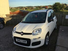FIAT PANDA. Free Service & MOT voucher. Low mileage. Excellent condition.