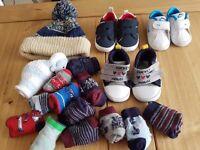Boys socks shoes Bundle