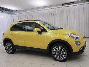 2016 Fiat 500X 5DR HATCH X-OVER w/ CRUISE, SUNROOF, USB PORT & A