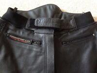 Ladies Leather Jeans