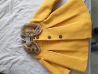girls coat 6-9 months