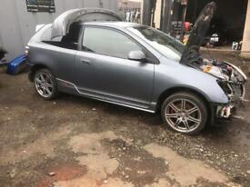 Honda Civic ep3 type r breaking