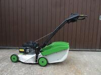 "Etesia PRO 46 PHCS 18"" Push Lawnmower with Honda GCV 160 Petrol Engine & Grass Box"