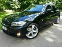 2010 BMW 325D SE TOURING*TOP RARE SPEC*FSH*TAN LEATHER*H/SEATS*MINT CONDN*#330D#320D#M SPORT#530D