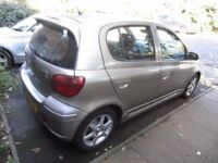 2005 TOYOTA YARIS T SPORT 5DR BREAKING FOR PARTS ALL PARTS AVAILABLE